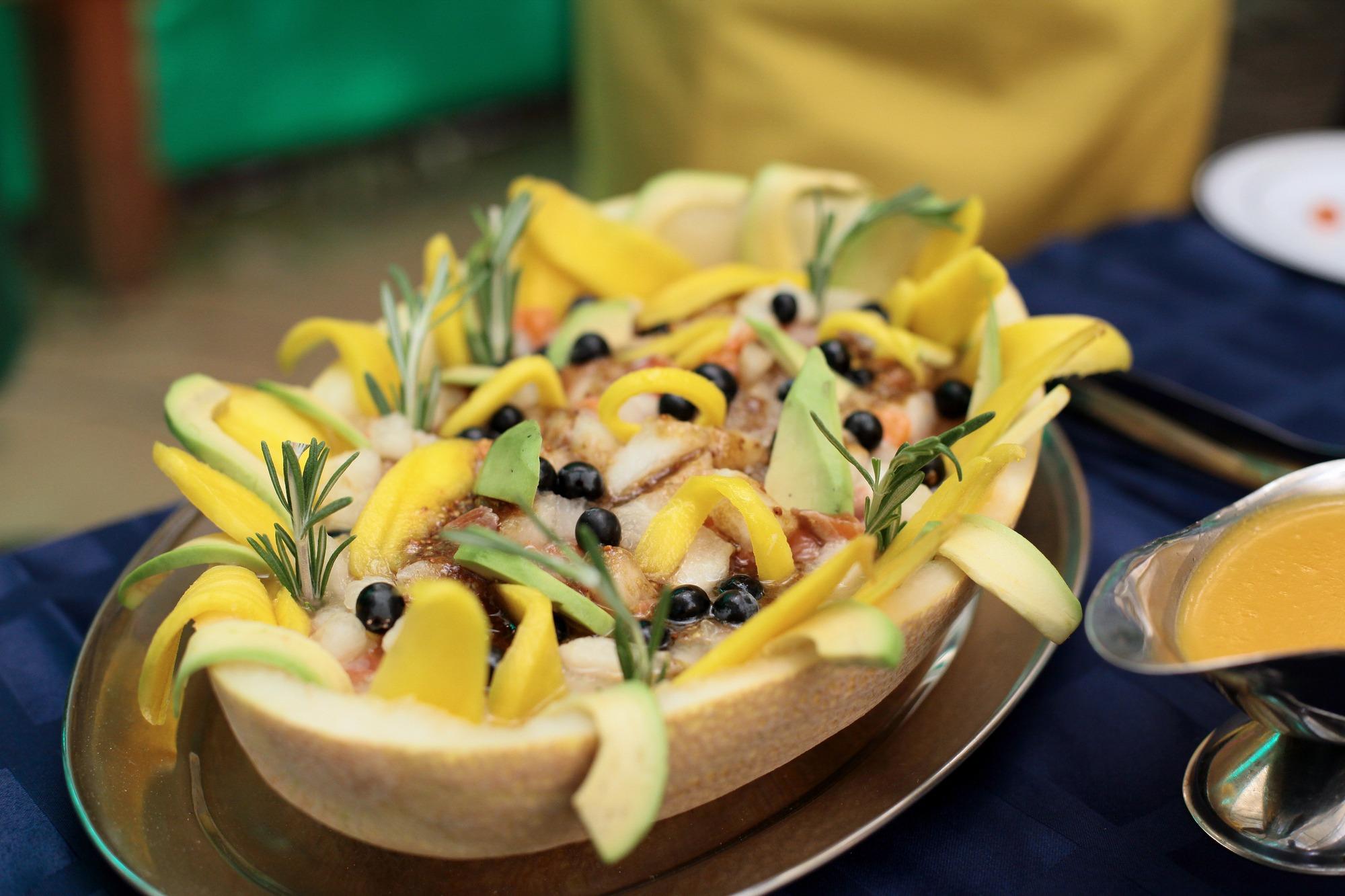 Блюда, приготовленные участниками. Салат