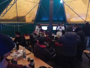 шатер внутри
