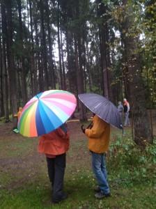 вк зонтики